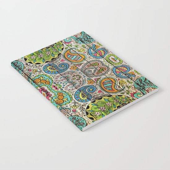 Kashmir on Wood 03 Notebook