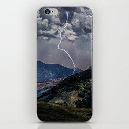Lighting Is Alone iPhone Skin