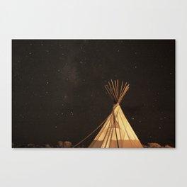 El Cosmico, Marfa Texas. Canvas Print