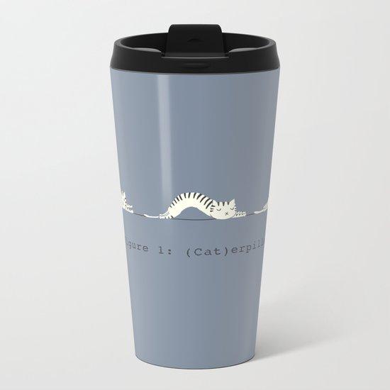 (Cat)erpillar Metal Travel Mug