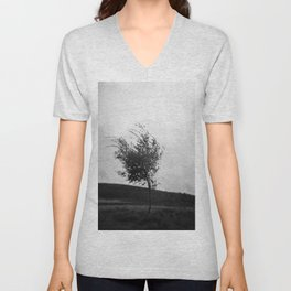 Dartmoor Tree Unisex V-Neck