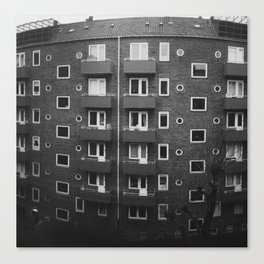 Copenhagen Flats Canvas Print