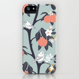 MAMA ROSA GARDEN - BIRD iPhone Case