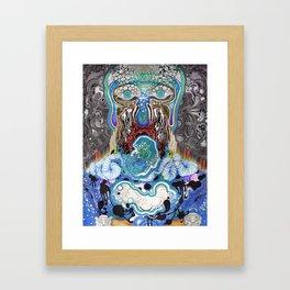 Dark Flow Tips The Velvet Framed Art Print