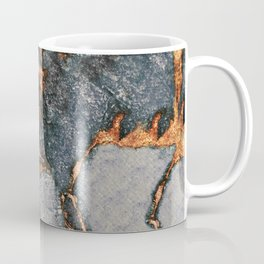 GREY & GOLD GEMSTONE Coffee Mug