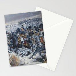 Richard Caton Woodville - Marshal Ney at Eylau Stationery Cards