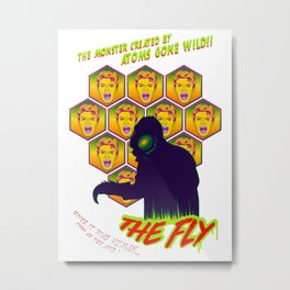 The Fly 1958 Metal Print