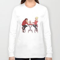 snk Long Sleeve T-shirts featuring YumiKuri by Wealthy Loser