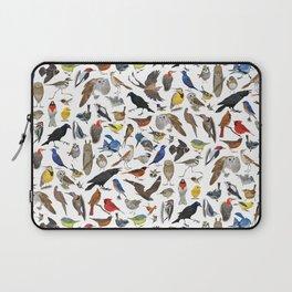 Bird Pattern Laptop Sleeve