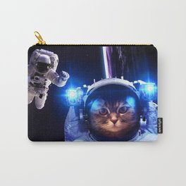Cat in space X Carry-All Pouch