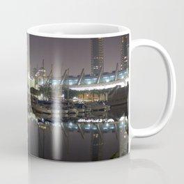 San Diego Embarcadero at night Coffee Mug