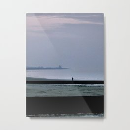 Mists over Minnis Bay Metal Print