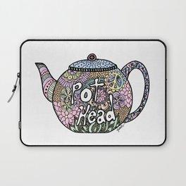 Tea Pot Head Laptop Sleeve