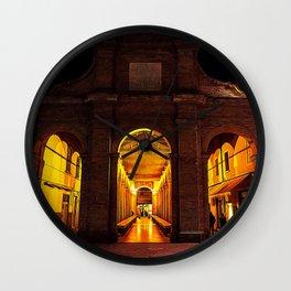 Rimini by night Wall Clock