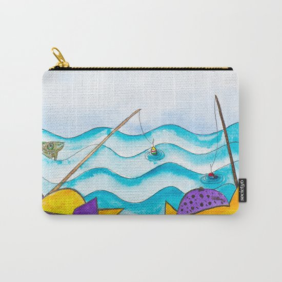Cats fishing Carry-All Pouch