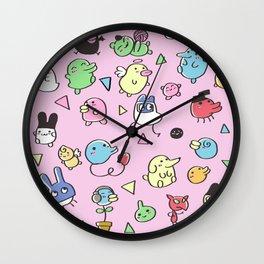 Tamagotchis Wall Clock