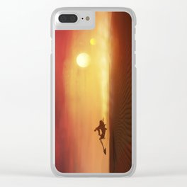 TATOOINE Clear iPhone Case