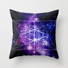 Flower of Life : Sacred Geometry Throw Pillow
