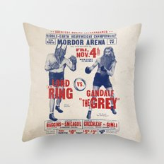 Lord of the Ring Throw Pillow