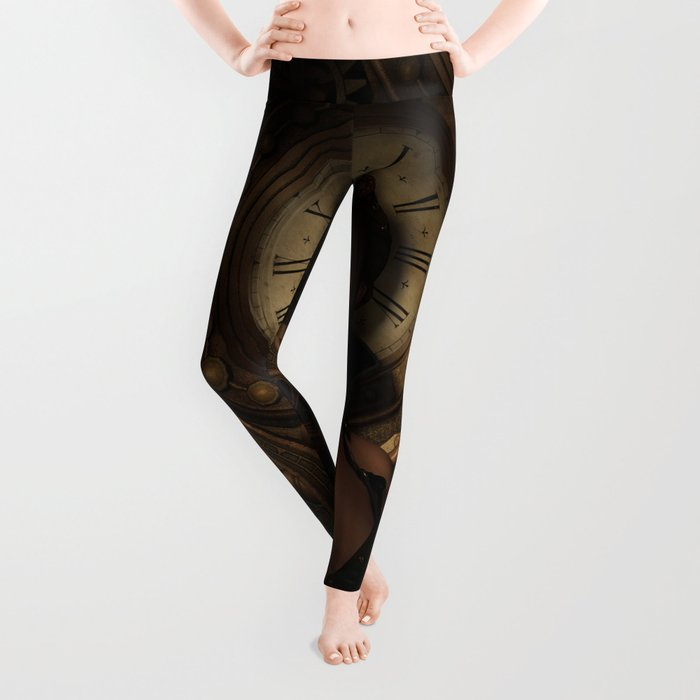Steampunk Time Keeper Leggings
