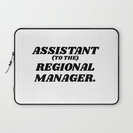 assistant to the regional manager Laptop Sleeve