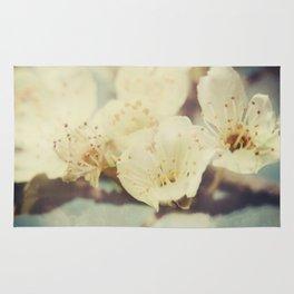 Golden Light Cherryblossom Rug