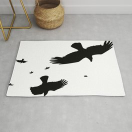 A Murder Of Crows Rug