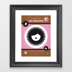 No467 My The Producers minimal movie poster Framed Art Print