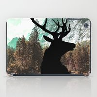 antlers iPad Cases featuring Antlers by Chetna Shetty