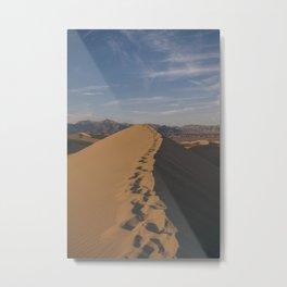 Death Valley: Mesquite Dunes 4 Metal Print