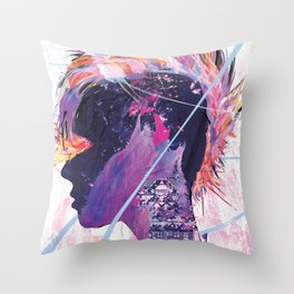 Howling Throw Pillow