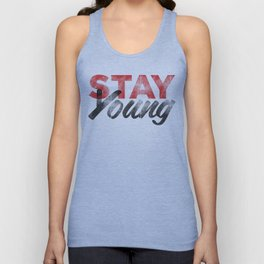 Stay Young Unisex Tank Top