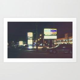 Sub. Urban. Art Print