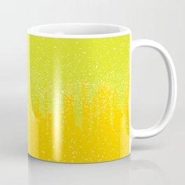 Yellow City Grunge Coffee Mug