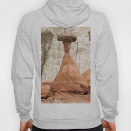 Hoodoo rock formation from Utah Hoody