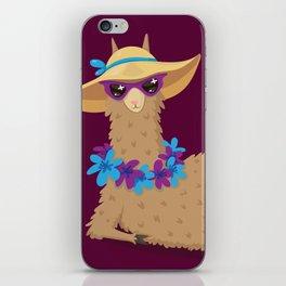 Bahama Llama iPhone Skin