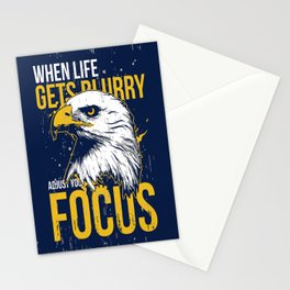 Adjust your Focus Stationery Cards