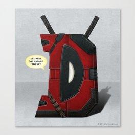 Superbet 'D' Canvas Print