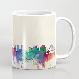 Dublin Ireland Skyline Cityscape Coffee Mug