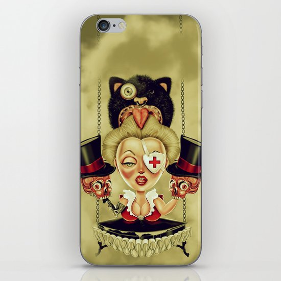 Hanging from Above iPhone & iPod Skin