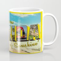 florida Mugs featuring Florida by JessicaSzymanski