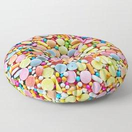 Mix of Candies Floor Pillow
