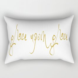 GRACE UPON GRACE. JUBIL PRINTS Rectangular Pillow