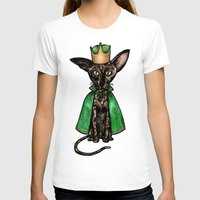 matisse T-shirts featuring Queen Matisse the Oriental Shorthair by Studio 8107