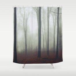 undisturbed Shower Curtain