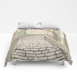 """""""LA PUENTE"""" de Alcañizo Comforters"""