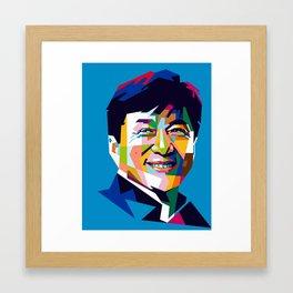 Jackie Chan Framed Art Print