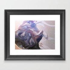Cave Hunt Framed Art Print