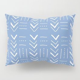 Geometric with lines, dots and chevrons Pillow Sham