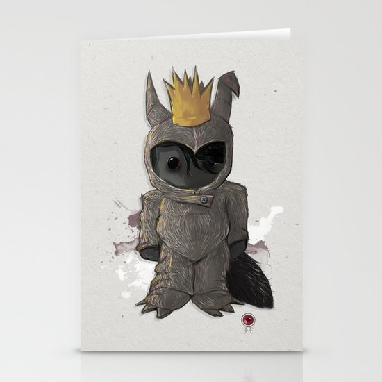 Wild one Stationery Cards